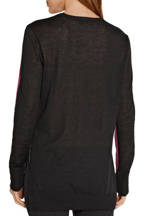 RAG & BONE Verity two-tone cashmere sweater