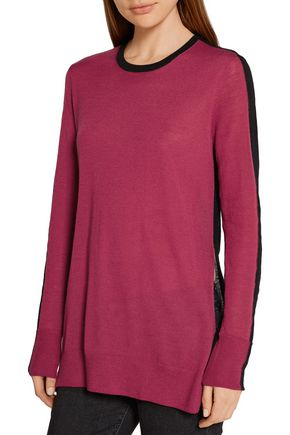 RAG & BONE Verity two-tone cashmere sweater