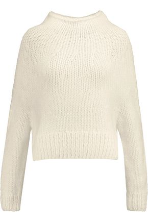 LINE Evelyn ribbed-knit wool-blend sweater