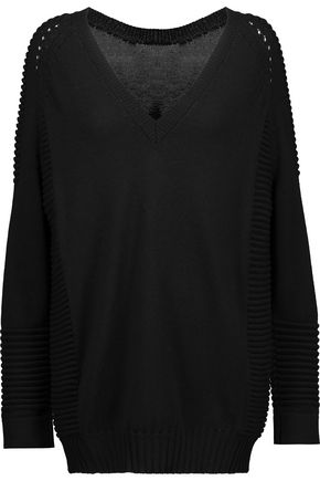 BELSTAFF Kassidy wool, silk and cashmere-blend sweater