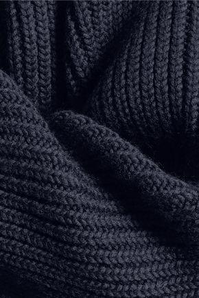•ELLERY• Monty cropped ribbed merino wool sweater