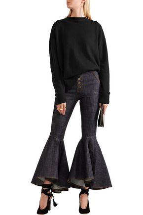 •ELLERY• Grace open-back knitted sweater