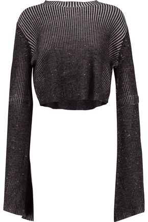 ELLERY Samurai ribbed merino wool sweater