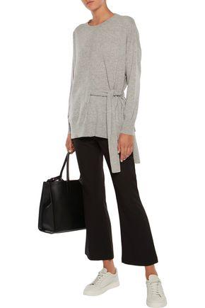 IRIS & INK Maddie belted cashmere sweater