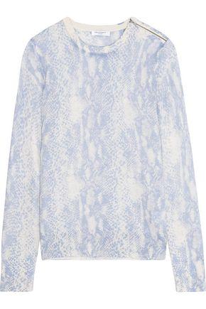 EQUIPMENT Ondine intarsia silk and cashmere-blend sweater