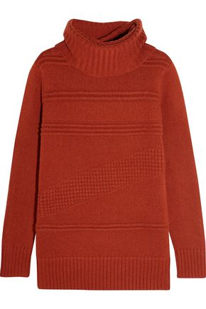 DIANE VON FURSTENBERG Talassa wool and cashmere-blend turtleneck sweater
