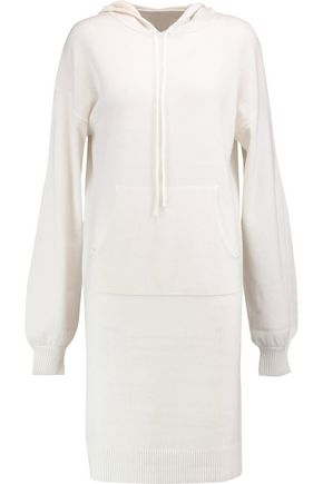 IRIS AND INK Jordan cashmere hooded sweater