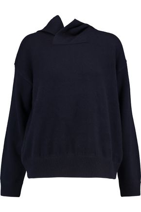 VINCE. Cashmere and wool-blend hooded sweater