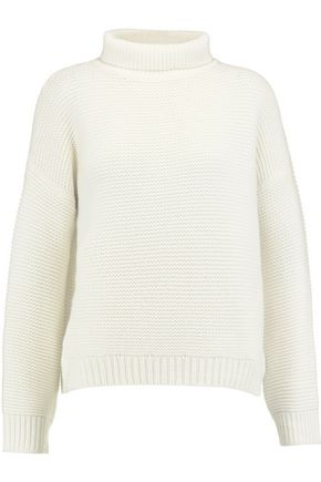 VINCE. Wool and cashmere-blend turtleneck sweater