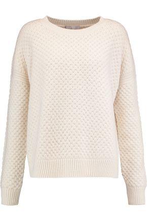 VINCE. Waffle-knit wool and yak-blend sweater