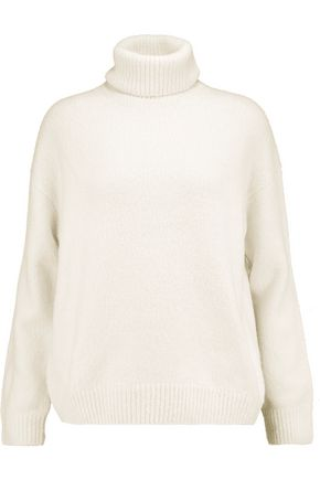 VINCE. Wool, silk and cashmere-blend turtleneck sweater
