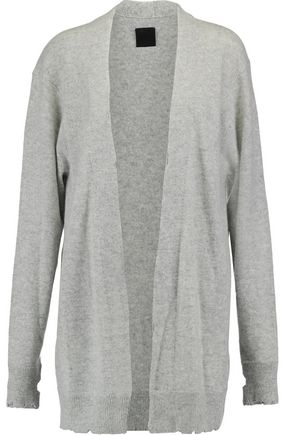 RTA Serge distressed cashmere cardigan