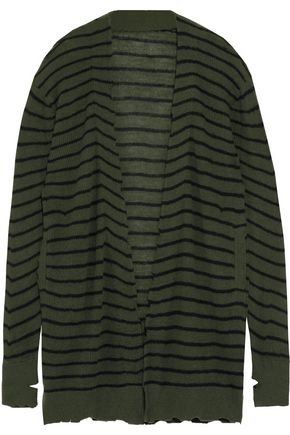 RTA Striped cashmere cardigan