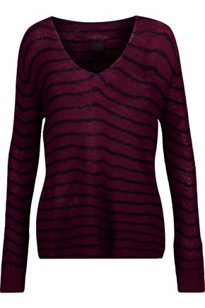 RTA Camille striped cashmere sweater