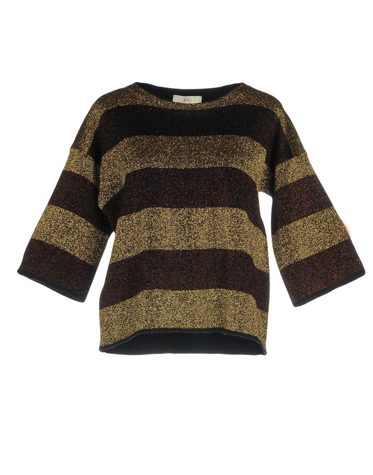 SUOLI Свитер мужской свитер в полоску 52