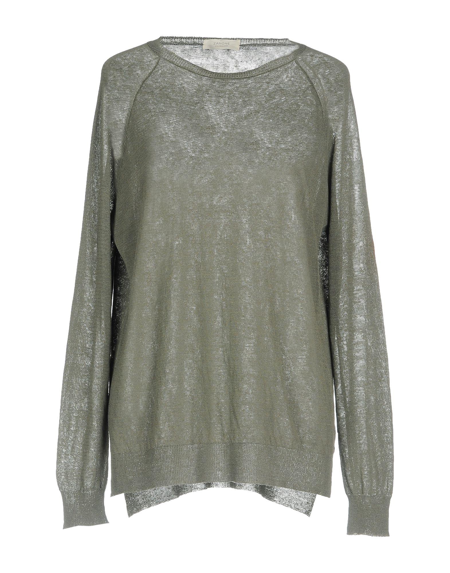 ZANONE Damen Pullover Farbe Grau Größe 5