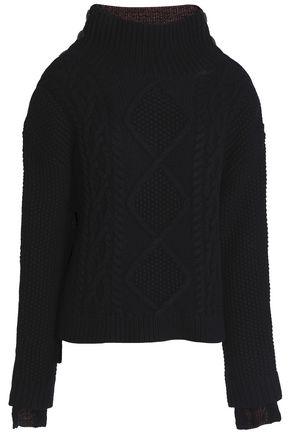 RAG & BONE Ida wool and ribbed-knit sweater