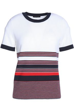 RAG & BONE Striped merino wool top