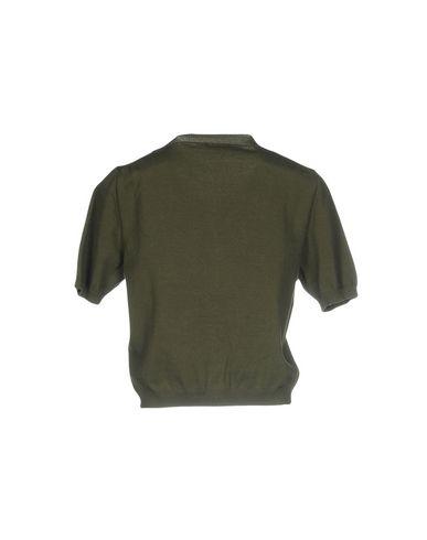Фото 2 - Женский кардиган P.A.R.O.S.H. цвет зеленый-милитари