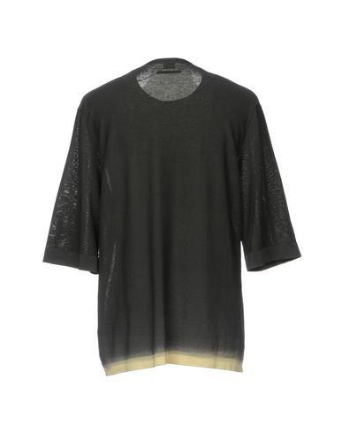 Фото 2 - Мужской свитер COVERT цвет стальной серый