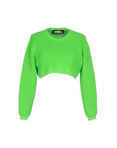 Купить Женский свитер JEREMY SCOTT кислотно-зеленого цвета