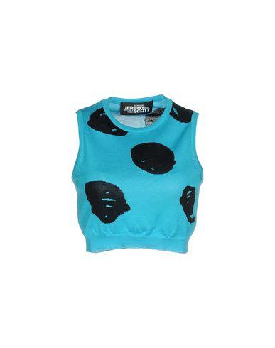 Купить Женский свитер JEREMY SCOTT бирюзового цвета