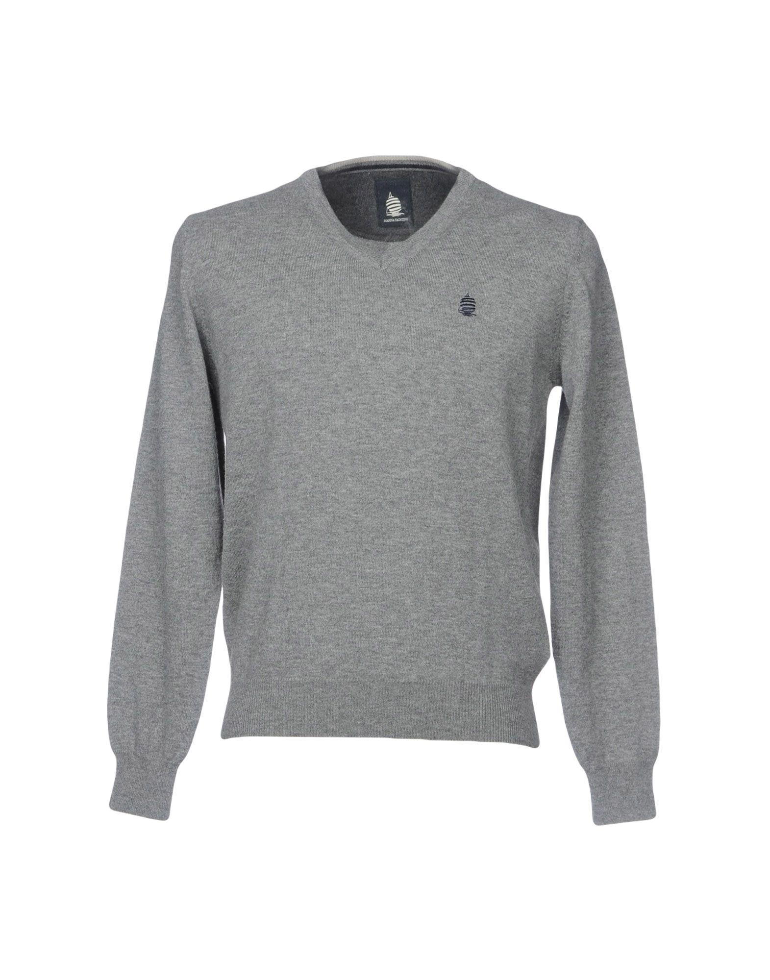MARINA YACHTING Herren Pullover Farbe Grau Größe 5