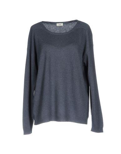 Фото - Женский свитер  грифельно-синего цвета