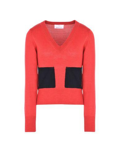 Фото - Женский свитер GEORGE J. LOVE красного цвета