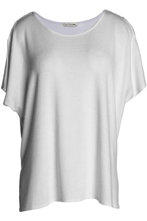 RAG & BONE/JEAN Draped stretch-knit top