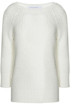 DIANE VON FURSTENBERG Open-knit cotton sweater