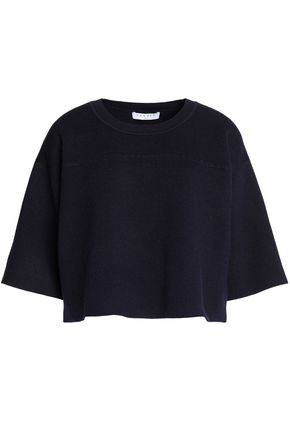 SANDRO Stretch-knit sweater