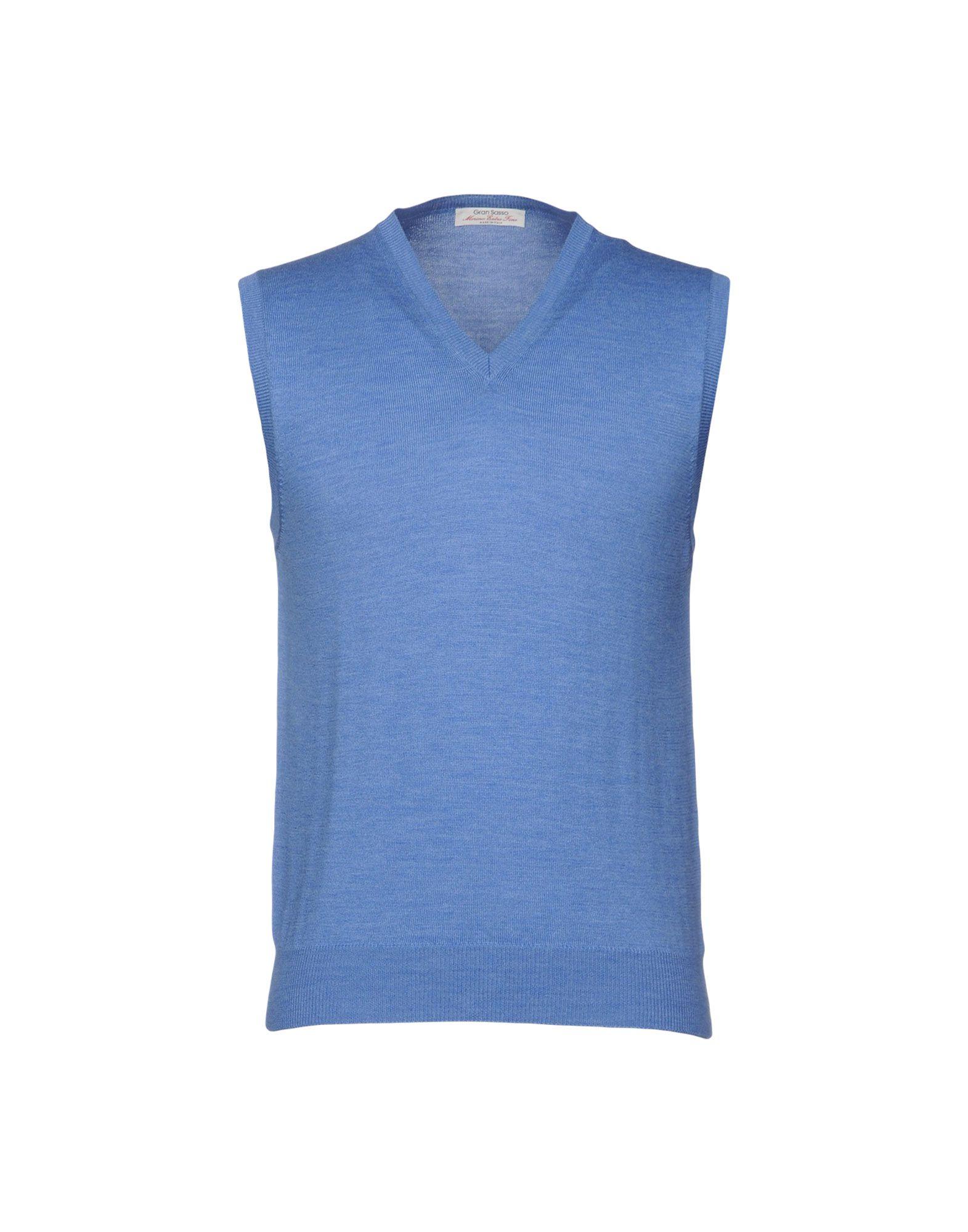 GRAN SASSO Свитер gran sasso свободный голубой свитер