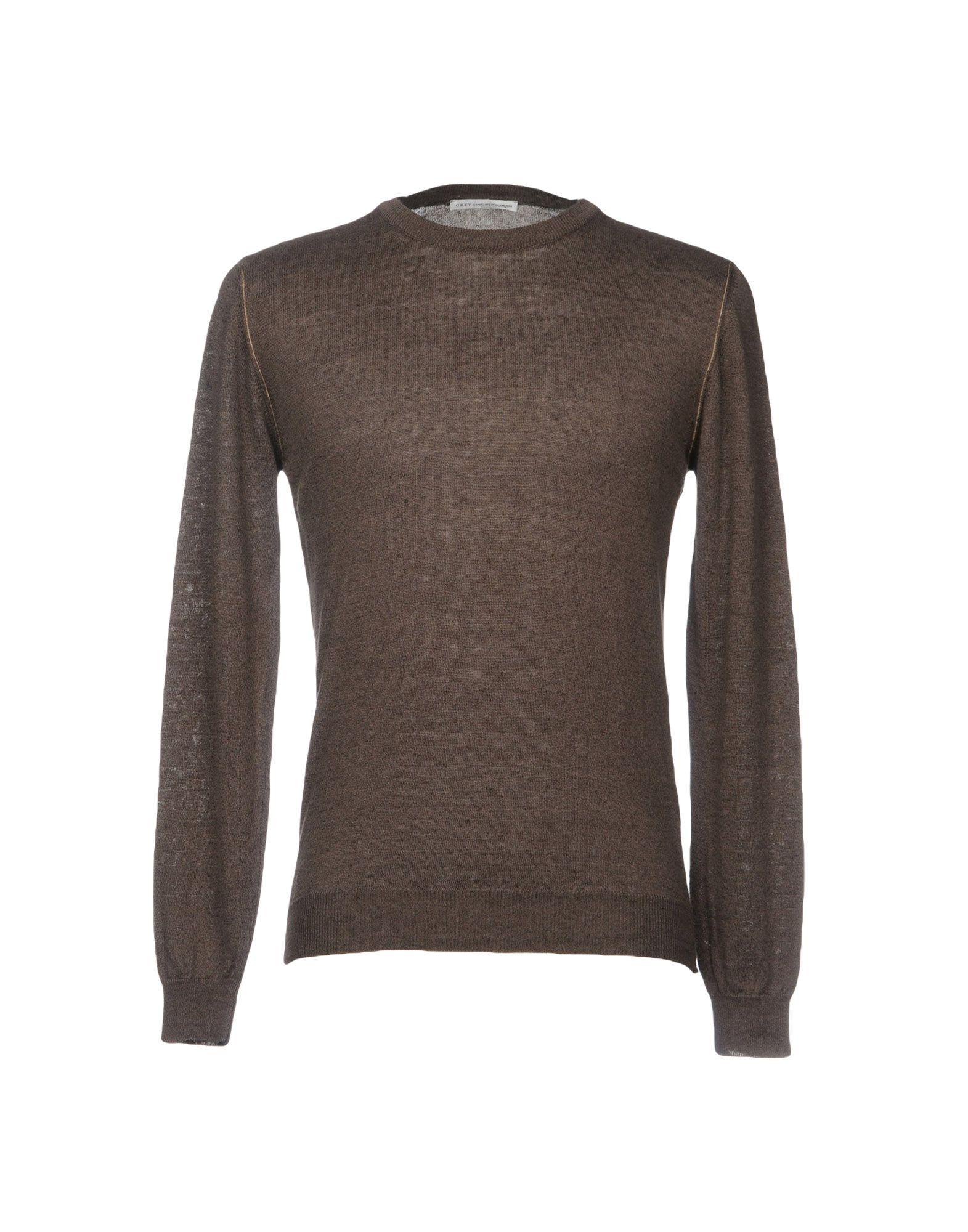 GREY DANIELE ALESSANDRINI Свитер betsy adam new lt grey sequin bottom blouson dress 8 msrp $179 00
