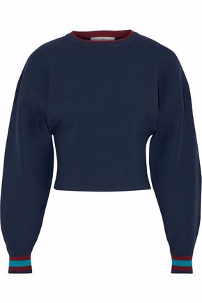 TIBI Pointelle-knit sweater