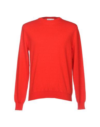 Фото - Мужской свитер AGLINI красного цвета