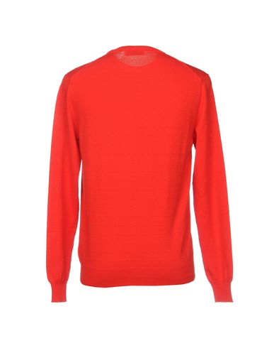 Фото 2 - Мужской свитер AGLINI красного цвета