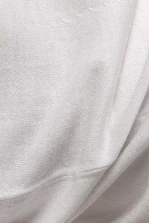 DOLCE & GABBANA Cashmere and silk-blend top