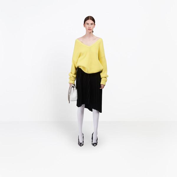BALENCIAGA Knitwear Woman Long Sleeves V Neck Sweater g