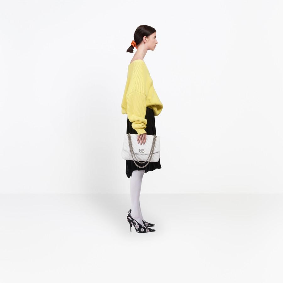 BALENCIAGA Long Sleeves V Neck Sweater Knitwear Woman i