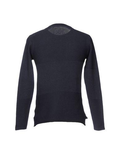 Фото 2 - Мужской свитер BL.11  BLOCK ELEVEN темно-синего цвета