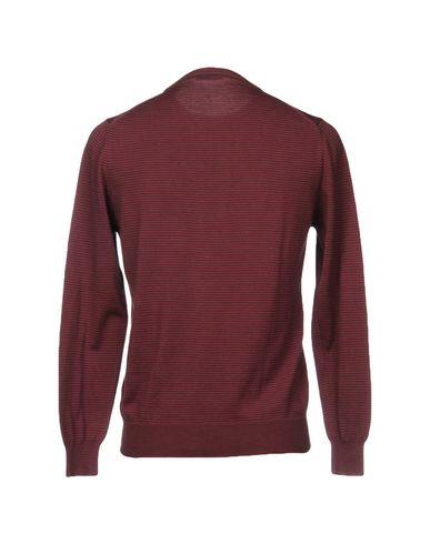 Фото 2 - Мужской свитер KEN BARRELL цвет пурпурный