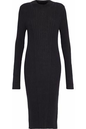 MAISON MARGIELA Ribbed wool midi dress