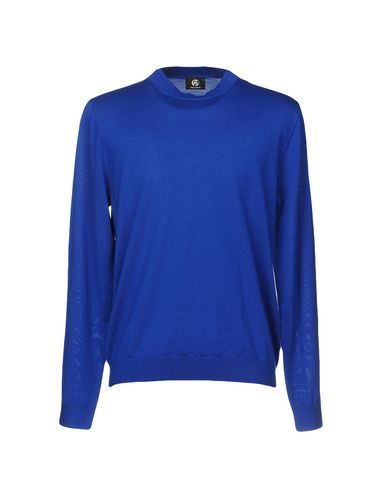 Фото - Мужской свитер  ярко-синего цвета