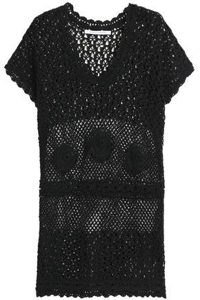 DIANE VON FURSTENBERG Crocheted cotton coverup