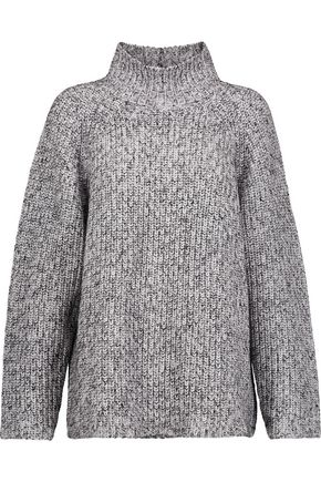 T by ALEXANDER WANG Ribbed-knit cotton-blend turtleneck sweater