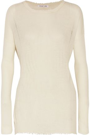 WOMAN WOOL SWEATER WHITE