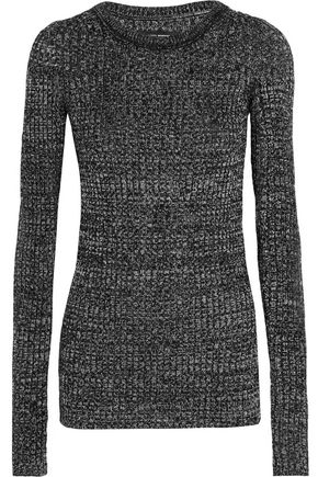 ISABEL MARANT Dayton ribbed-knit top