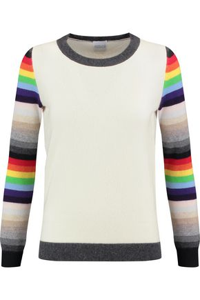 MADELEINE THOMPSON Amelia striped cashmere sweater