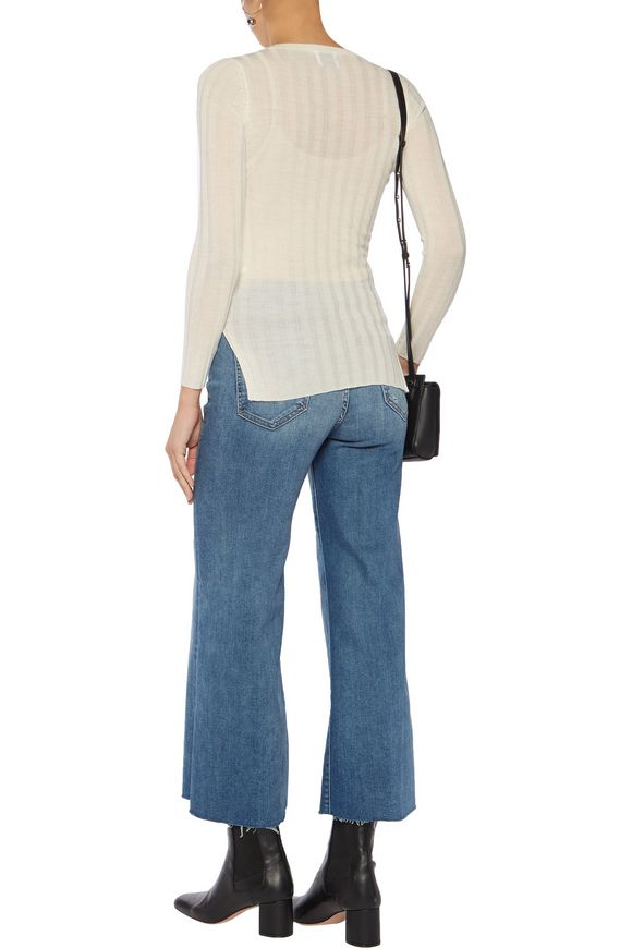 Halki ribbed wool and cashmere-blend sweater | MADELEINE THOMPSON | Sale up  to 70% off | THE OUTNET